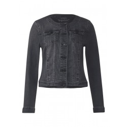 Veste en jean noire by Street One