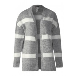 Cardigan bouclette rayé by Street One