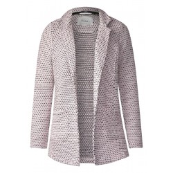 Modische Bouclé Sweatjacke by Cecil