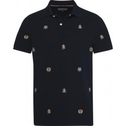Besticktes Slim Fit Poloshirt by Tommy Hilfiger