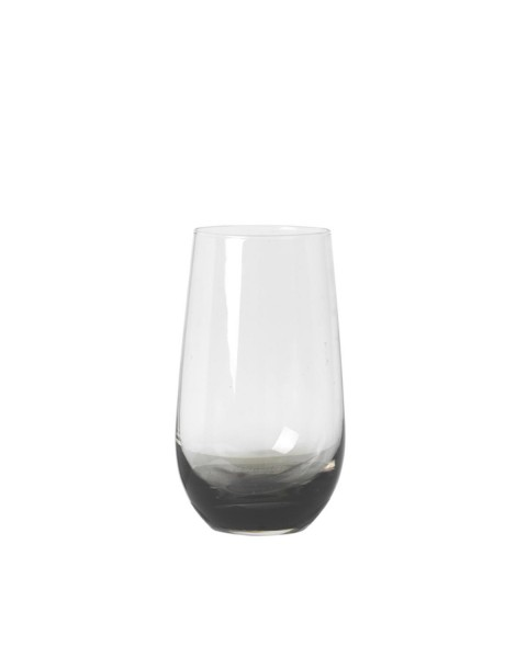 Water glass Smoke (Ø 8,5 cm) by Broste Copenhagen