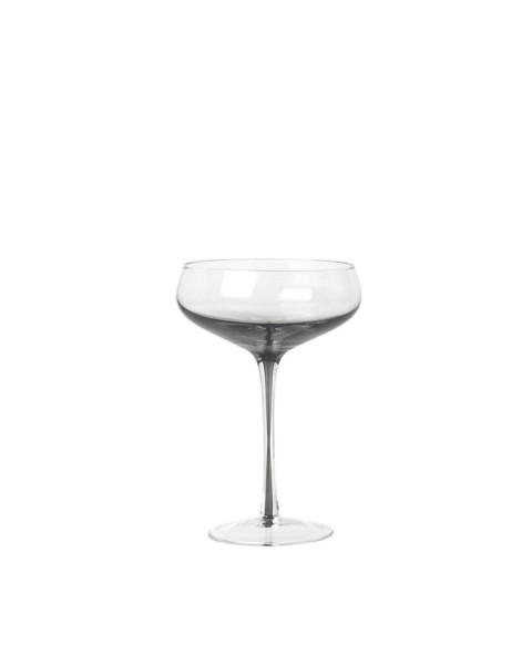 Cocktail glass Smoke (Ø 11,2 cm) by Broste Copenhagen