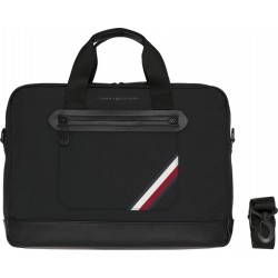Easy tape lightweight  computer bag by Tommy Hilfiger