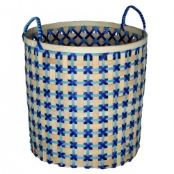 Bamboo basket (Ø 40 cm) by Handed by