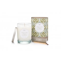 Candle Tabac and Talc (11oz) by Kobo