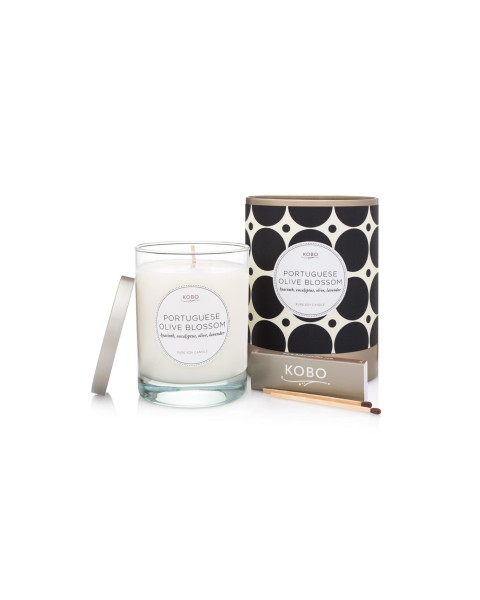 Candle Portuguese Olive Blossom (11oz) by Kobo