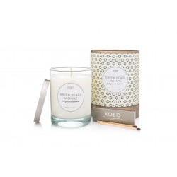 Candle Green Pearl Jasmine (11oz) by Kobo