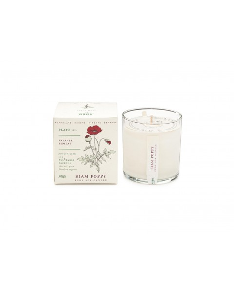 Candle Siam Poppy (60 h)
