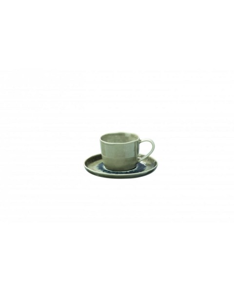 Cappuccino cup with saucer PORCELINO (Ø 16 cm) by Pomax