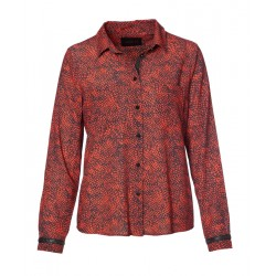 Bluse mit Print by Caddis Fly