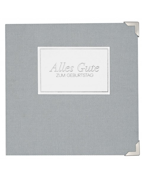 "Greeting card ""Alles Gute"" (14x14cm)"