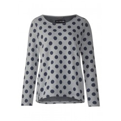 Feminines Punkte Sweatshirt by Street One