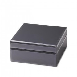 Glass storage box (21,5x10x21,5cm - L) by Yaya