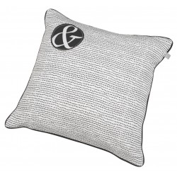 Cushion WHITE/BLACK (50x50cm) by Räder