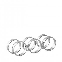 Napkin rings (Set of 6) by Broste Copenhagen