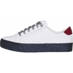 Lace-up-Sneaker mit Glitzer by Tommy Hilfiger