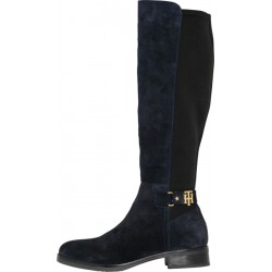 Bottines extensibles à boucle monogramme by Tommy Hilfiger