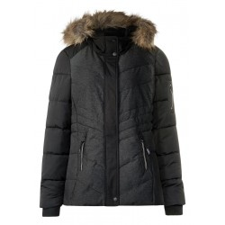 Materialmix Melange Jacke by Cecil