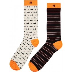 2-pack colorful socks by Scotch & Soda