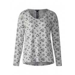 Allover Print Shirt by Street One