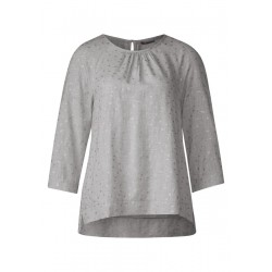 Blouse raglan chinée by Street One