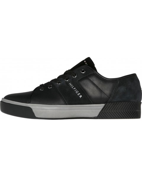 Sneakers im Leder-Mix by Tommy Hilfiger