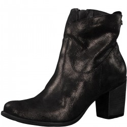 Metallic-Boots im Glitzer-Look by s.Oliver Red Label