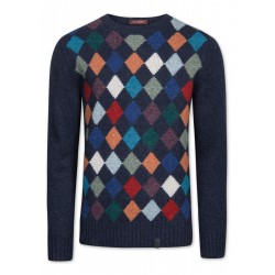 Milow-Argyle Pullover by Colours & Sons
