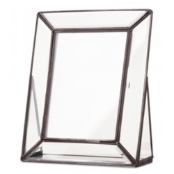 Photoframe faceted glass (13x18cm) by Yaya