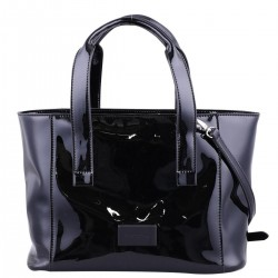 Shoppingbag in extravaganter Lackoptik by Comma