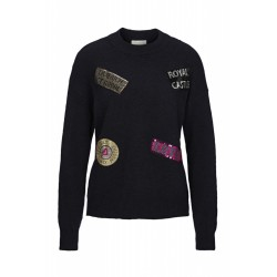 Pulli mit Statement-Patches by Rich & Royal