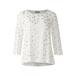 Softes Shirt mit Kuss-Print by Street One