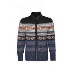 Strickjacke mit Muster by Camel
