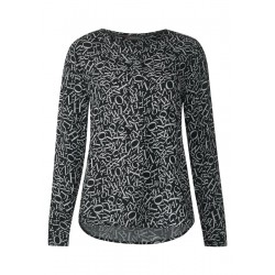Allover Print Bluse Vivian by Street One