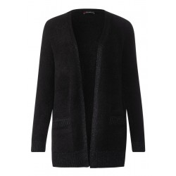 Weicher Bouclé-Cardigan by Street One