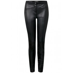 Pantalon en similicuir Joyce by Cecil