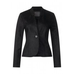 Femininer Lederlook Blazer by Street One