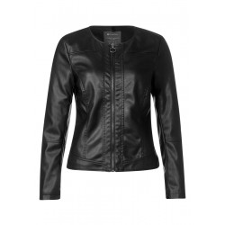 Feminine Lederlook Jacke by Street One