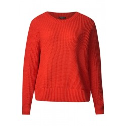 Pull-over en fil chenille by Street One
