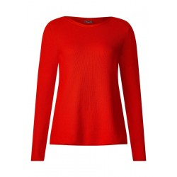 Pull-over en coton texturé by Street One
