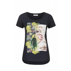 T-shirt mit Print by Rich & Royal
