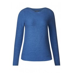 Pull-over en coton texturé by Cecil
