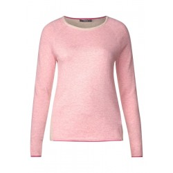 Softer Colour Block Pullover by Cecil