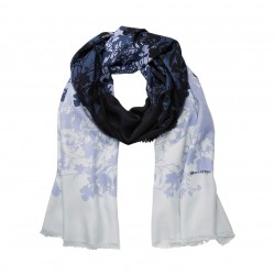 Scarf with an all-over floral print by Marc O'Polo