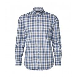 Langarm-Hemd shaped mit Button-Down-Kragen by Marc O'Polo