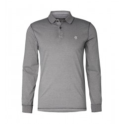 Long-sleeve polo shirt Regular - Garment Dyed by Marc O'Polo