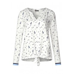 Shirt mit maritimen Print by Street One