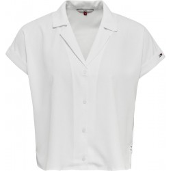 Bluse mit V-Ausschnitt by Tommy Jeans