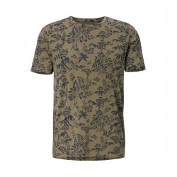 T-shirt with a botanical print by Marc O'Polo