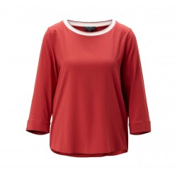 Blouse shirt in a stretch viscose fabric by Marc O'Polo